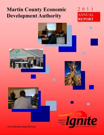 2011 Annual Report - Martin County EDA