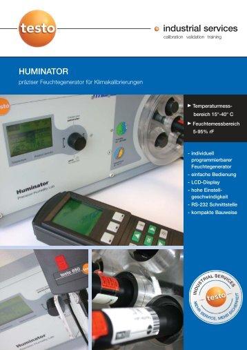 HUMINATOR - Testo Industrial Services GmbH