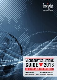 Microsoft Solutions Guide 2013