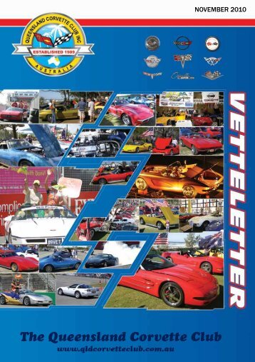 November 2010 Vetteletter.pdf - qld corvette club inc
