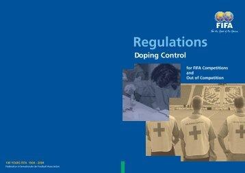 Regulations Doping Control - FIFA.com