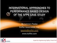 international approaches to performance-based design of the sfpe ...