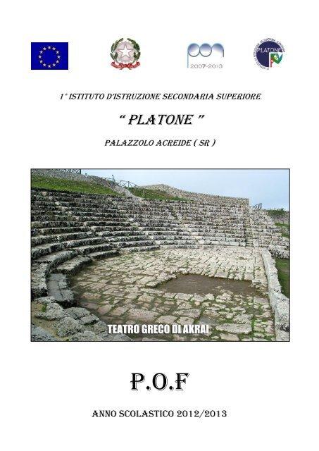 POF 2012/2013 - Liceo Platone