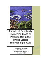 Impacts of Genetically Engineered Crops on ... - nlpwessex.org