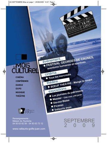 A5 SEPTEMBRE_Mise en page 1 - Vallauris Golfe-Juan