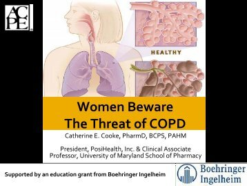 COPD - Free CE Continuing Education online pharmacy, pharmacists