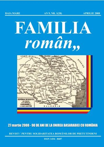 """2008, aprilie (PDF) - Biblioteca judeţeană """"Petre Dulfu"""""""