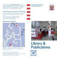Library & Publications - Hessische Landeszentrale für politische ...