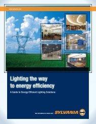 Lighting the way to energy efficiency - Osram Sylvania