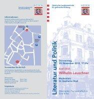 Informationsflyer mit Anmeldeschein - Hessische Landeszentrale für ...