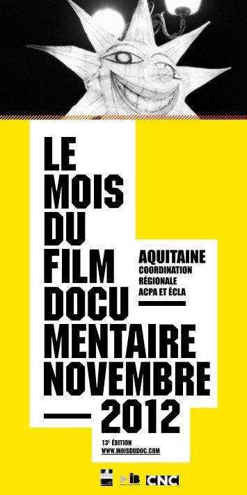 AQUITAINE - Le Mois du Film Documentaire
