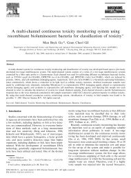 A multi-channel continuous toxicity monitoring system using ...