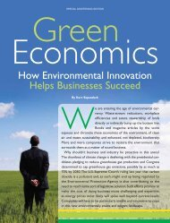 Green Economics - Forbes Special Sections