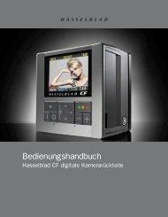 Bedienungshandbuch - Hasselblad