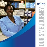 Our SME journey. | PDF 4.7 MB - Standard Bank Sustainability