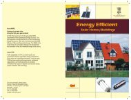 Energy Efficient Solar Homes & Buildings - Ministry of New and ...