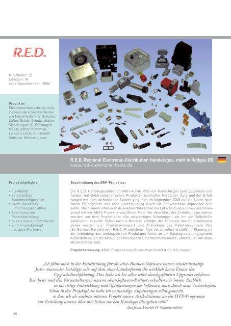 Referenzen - ABAS Software AG