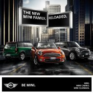 Be MINI. - Bmw
