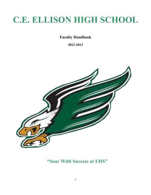 CE ELLISON HIGH SCHOOL Faculty Handbook - Killeen
