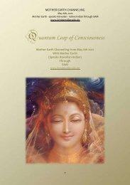 Quantum Leap of Consciousness - pachamama 2012