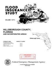 Hillsborough County, Florida and Incorporated Areas - BakerAECOM