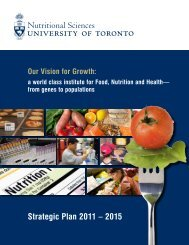 Strategic Plan 2011 – 2015 - University of Toronto