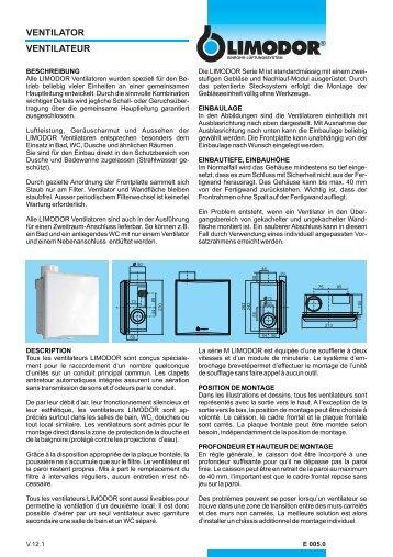 ventilator ventilateur - Dyson Deckenventilatorbefestigung