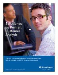 Soluciones de Portrait Customer Analytic - Pitney Bowes Software ...