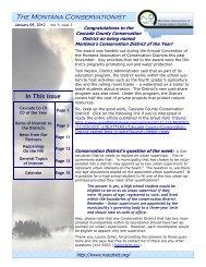 January 9, 2012 Volume 5 Issue 1 - Montana Association of ...
