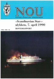 NOU 1991 - Scandinavian Star