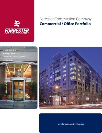 Commercial / Office Portfolio - Forrester Construction