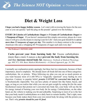 Diet & Weight Loss - BrianPeskin.com