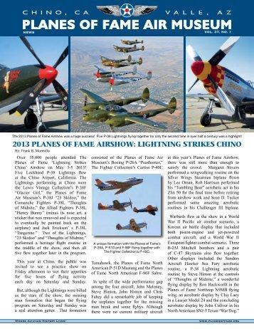 E-Newsletter - Planes of Fame