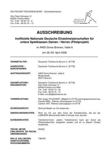 AUSSCHREIBUNG - Siegelonline.de