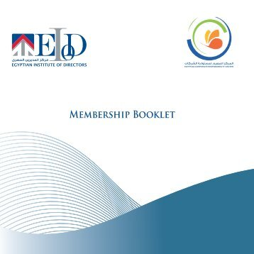 MEMbERShiP BOOklEt - EIoD