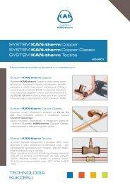 TECHNOLOGIA SUKCESU SYSTEM KAN-therm Copper SYSTEM ...