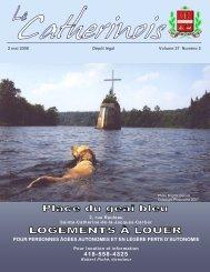 Mai 2008 - Ville de Sainte-Catherine-de-la-Jacques-Cartier