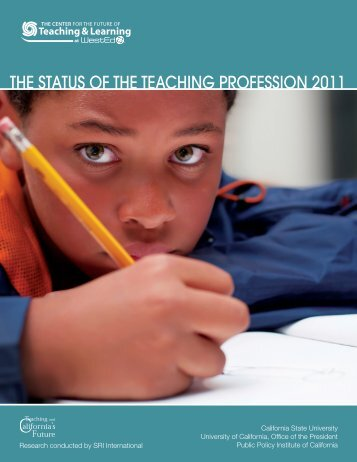 The Status of the Teaching Profession 2011 (Full Report)