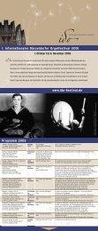 Programm 10Seiter.indd - Internationales Düsseldorfer Orgelfestival