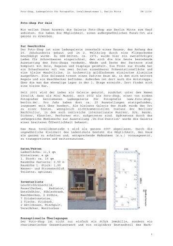 Angebot - Foto Shop Berlin