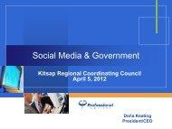 Social Media & Government - Kitsap Regional Coordinating Council