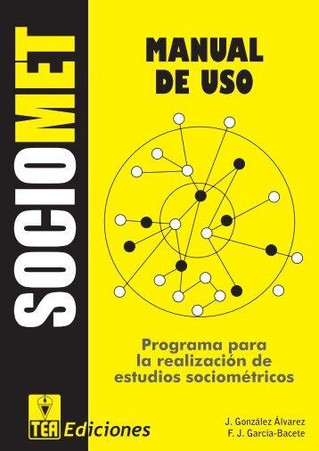 MANUAL DE USO - TEA Ediciones
