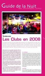 Les Clubs en 2008 - JDS.fr
