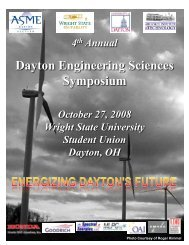 Final Program - American Society of Mechanical Engineers - Dayton ...