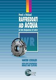 wr raffreddati ad acqua - Arten Freios e Embreagens Industriais