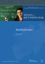 Wahlkalender 2010/2011 [pdf 452KB]