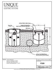 Apollo Installtion Detail - She - Unique Lighting Systems