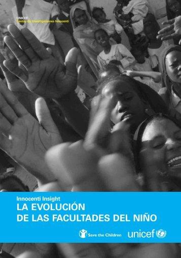 LA EVOLUCIÓN DE LAS FACULTADES DEL NIÑO