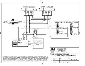 duraglide interface board?quality=85 24 v transformer bodyguar stanley dura glide model j wiring diagram at virtualis.co