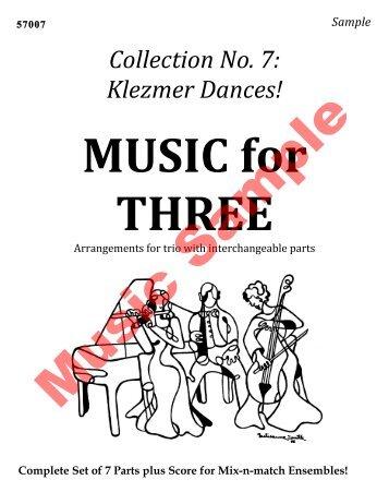 Collection No. 7: Klezmer Dances! - Last Resort Music